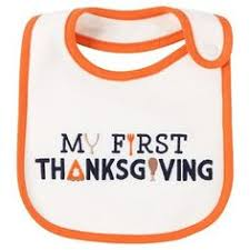 new unisex baby s thanksgiving bib gobble on turkey