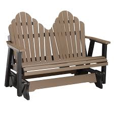 decorating porch decoration with wooden swing porch glider and