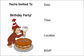 free printable birthday invitation template u2013 bagvania free