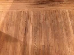 removing black rust stains from nails and staples on hardwood