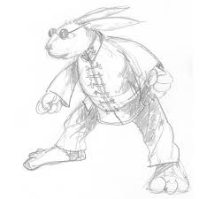 kung fu dust bunny u2014 451 design graphic design illustration