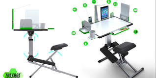 kickstarter alert the edge collapsible ergonomic desk geekdad