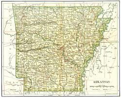 Ouachita Mountains Map Arkansas Maps Arkansas Digital Map Library Table Of Contents