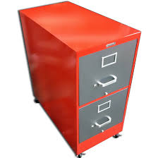 Retro Filing Cabinet Vintage Retro Steel Vertical File Cabinet Customized Office