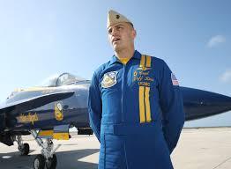 Navy Blue An by Blue Angels Pilot Jeff Kuss Mourned By Smyrna Community