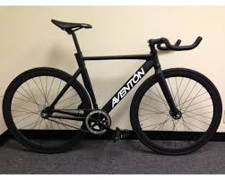 black friday bike deals aventon mataro complete fixie track bike black by sgvbicycles