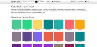 beautiful colors hex 12 best tools for playing around with color muzli design