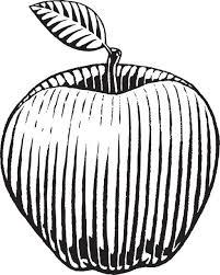 cartoon of a apple logo clip art vector images u0026 illustrations