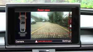 audi parking system advanced genuine audi front rear digital with side view mmi 3g