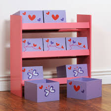 boxen regal kinderzimmer mini regal mit kästchen rosa