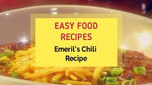 emeril s chili recipe