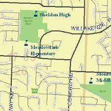 eugene map eugene maps council of governments or official website