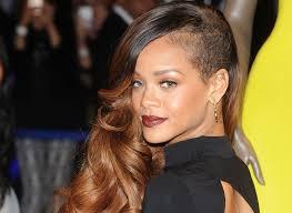 rihanna long hairstyles medium hair styles ideas 96