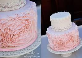 fondant rosette cake ashlee marie