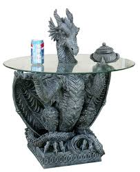 Medieval Dragon Home Decor Dragon End Table Awe Inspiring On Ideas In Company With Gothic