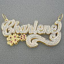 3d nameplate necklace personalized name plates jewelry gallery of jewelry