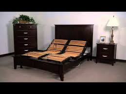 auto adjustable electric bed frame queen youtube