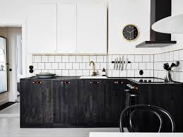 Black White Kitchen Ideas by Stunning Curved Kitchen Island Ideas Orangearts Black And White