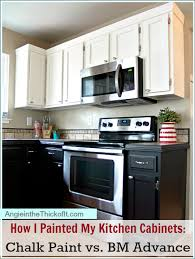 paint my kitchen cabinets how i painted my kitchen cabinets chalk paint latex and benjamin