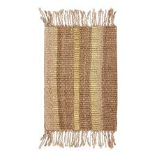 langdon jute doormat gold modern homewares buy your door