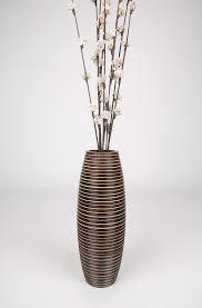Wooden Vases Uk Buy Decorative Wooden Table Vases Online Leewadee