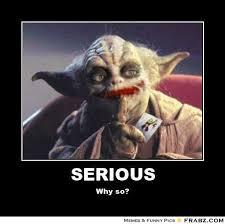 Meme Generator Yoda - amazing llama meme serious yoda joker meme generator posterizer