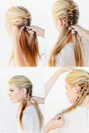 Frisuren Selber Machen Fischgr舩enzopf fischgrätenzopf frisuren und die anleitung zum flechten hair