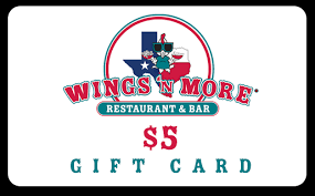 5 dollar gift cards wings n more store order gift cards for wings n more bryan