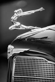 emblems vintage cars ornaments hoods and