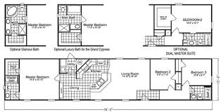 Floor Plans For Mobile Homes Single Wide Scotbilt Mobile Home Floor Plans Singelwide Single Wide Mobile