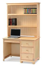 birch wood bead board student desk basic hutch 3 color options