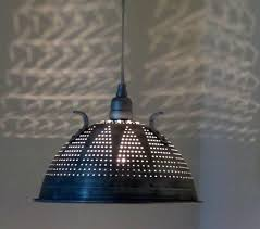 mini kitchen pendant light lights colander flashing rail van kit