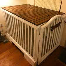 diy dog crate repurposed baby crib and pallet reclaimed whiskey