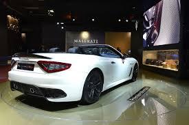 maserati mc 13 maserati sports up grancabrio drop top with new mc edition
