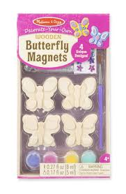 amazon com melissa u0026 doug decorate your own wooden butterfly