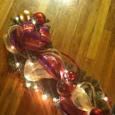 lighted christmas tree garland 111 best garland images on pinterest candle cottage ideas and grains