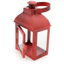 red metal lantern metal candle lanterns wedding centerpiece