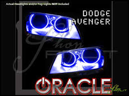 08 14 dodge avenger led dual color halo rings headlights bulbs