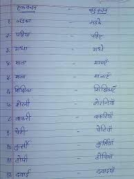 stars of pis ahmedabad std iii hindi notes vachan