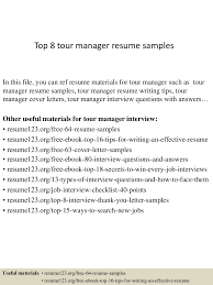 Resume Sample Hk by Top8tourmanagerresumesamples 150331210013 Conversion Gate01 Thumbnail 4 Jpg Cb U003d1427853672