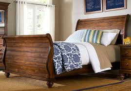 Solid Wood Bed Frame King Bed How To Build King Size Wood Bed Frame Wonderful Wood Sleigh