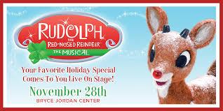 rudolph red nosed reindeer musical bryce jordan center
