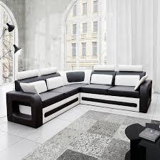 canap d angle coffre canapé moderne noir et avec coffre de rangement