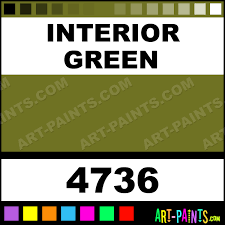 interior green artist airbrush spray paints 4736 interior