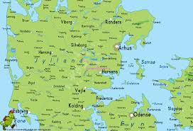 horsens map