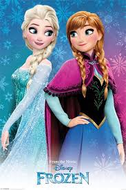 film elsa i anna frozen disney sisters official poster official merchandise