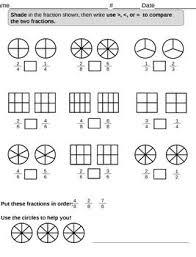 27 best fraction worksheets images on pinterest math fractions