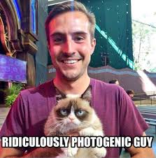 Photogenic Runner Meme - holy fuck at ridiculously photogenic guy