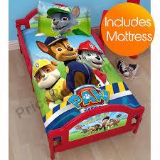 character toddler junior beds peppa pig thomas paw patrol