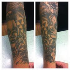 jdm tattoos healed day of the dead sleeve by willemxsm on deviantart